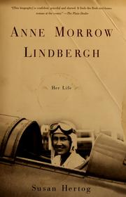 Cover of: Anne Morrow Lindbergh: her life