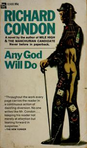 Cover of: Any god will do