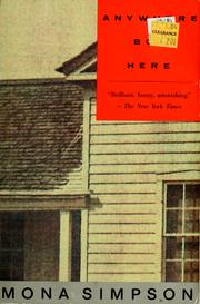 Cover of: Anywhere but here