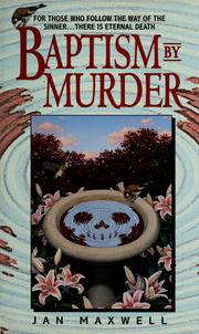 Cover of: Baptism by murder