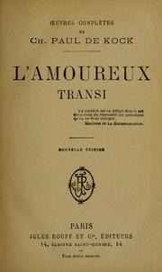 Cover of: L' amoureux transi