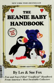 Cover of: The beanie baby handbook
