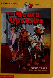 Cover of: The bears upstairs