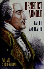 Cover of: Benedict Arnold: patriot and traitor