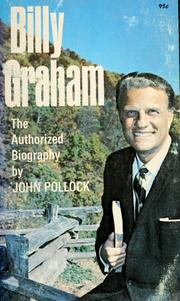 Cover of: Billy Graham: the authorized biography