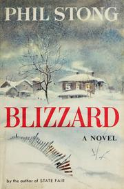 Cover of: Blizzard.