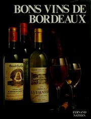 Cover of: Bons vins de Bordeaux