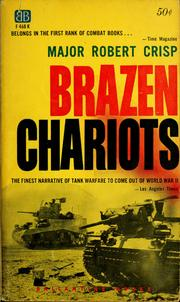 Cover of: Brazen chariots: an account of tank warfare in the Western Desert, November-December 1941.