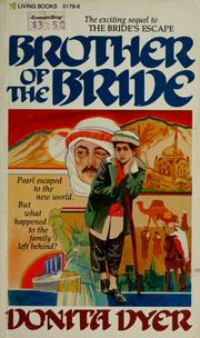 Cover of: Brother of the bride