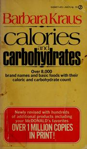 Cover of: Calories and carbohydrates.