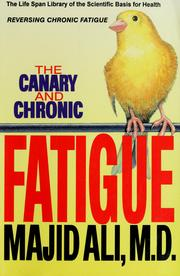 Cover of: The canary and chronic fatigue