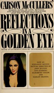 Cover of: Carson McCuller's Reflections in a golden eye