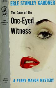 Cover of: The case of the one-eyed witness