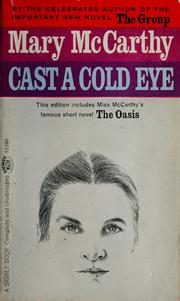 Cover of: Cast a cold eye