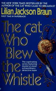 Cover of: The cat who blew the whistle