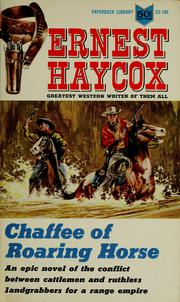 Cover of: Chaffee of Roaring Horse.