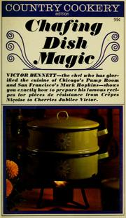 Cover of: Chafing dish magic