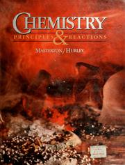 Cover of: Chemistry: principles and reactions