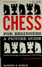 Cover of: Chess for beginners: a picture guide
