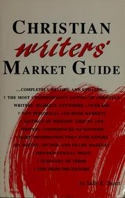 Cover of: Christian writers' market guide