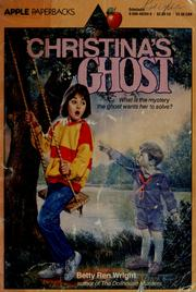 Cover of: Christina's ghost