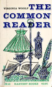 Cover of: The common reader, first series