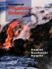 Cover of: Conceptual physical science-- explorations