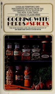 Cover of: Cooking with herbs & spices