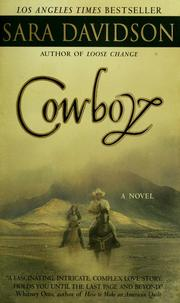 Cover of: Cowboy: a novel