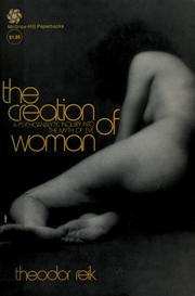 Cover of: The creation of woman.