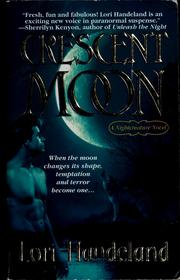 Cover of: Crescent moon