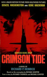 Cover of: Crimson tide: a novel