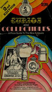 Cover of: Curios and collectibles: a price guide to the new antiques.