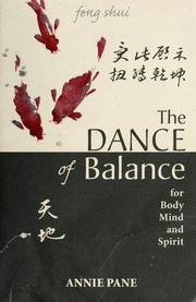 Cover of: Dance of balance Feng Shui for body, mind and spirit
