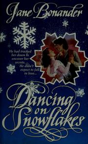 Cover of: Dancing on snowflakes.