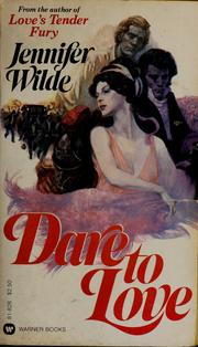 Cover of: Dare to love