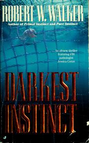 Cover of: Darkest instinct