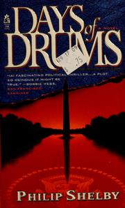 Cover of: Days of drums
