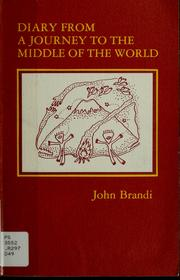 Cover of: Diary from a journey to the middle of the world