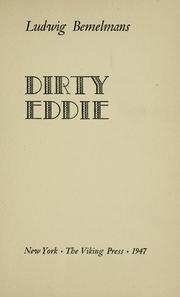 Cover of: Dirty Eddie