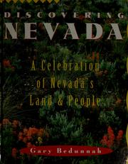Cover of: Discovering Nevada