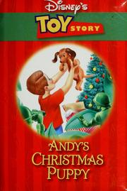 Cover of: Disney's Toy story: Andy's Christmas puppy