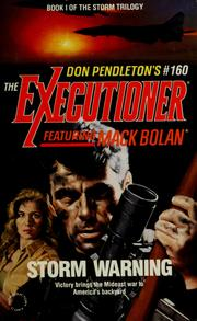 Cover of: Don Pendleton's The executioner featuring Mack Bolan