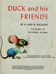 Cover of: Duck and his friends.