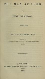 Cover of: The man at arms, or, Henri de Cerons: a romance