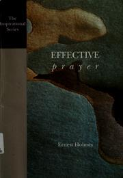 Cover of: Effective prayer