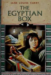Cover of: The Egyptian box