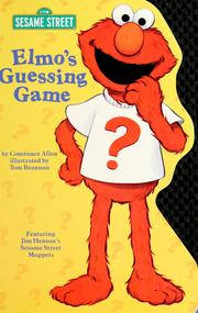Cover of: Elmo's guessing game