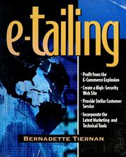 Cover of: e-tailing