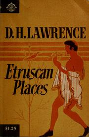 Cover of: Etruscan places